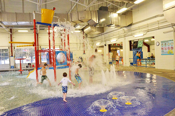Lava Hot Springs Indoor Aquatic Center & Kiddie Pool
