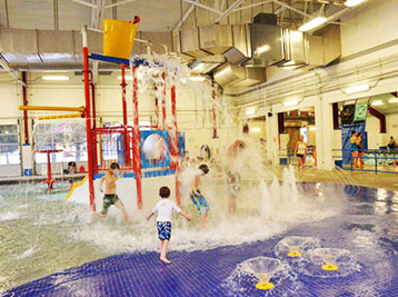 Portneuf Kiddie Cove at Lava Hot Springs Indoor Pool