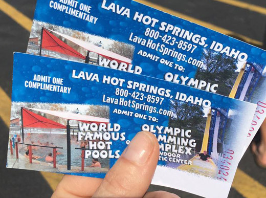 Lava Hot Springs Pool Passes