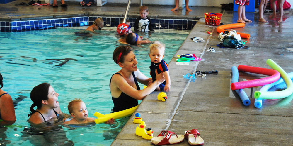 Lava Hot Springs Swimming Lessons