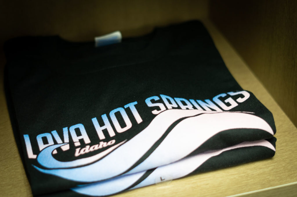 T-Shirts at Lava Hot Springs Gift Shop