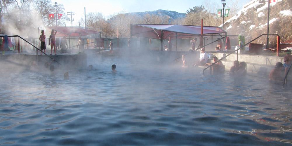 World Famous Hot Pools at Lava Hot Springs Vacation Resort